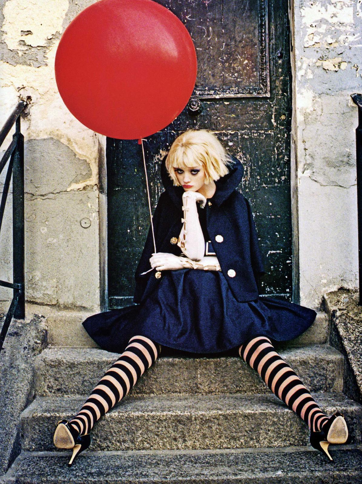 Vogue Italia June 2007 (photography: Ellen von Unwerth)