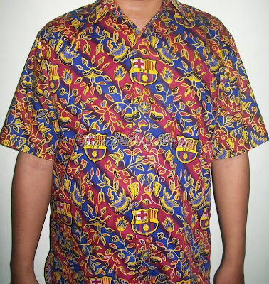 Jual Batik Bola Murah - Barca