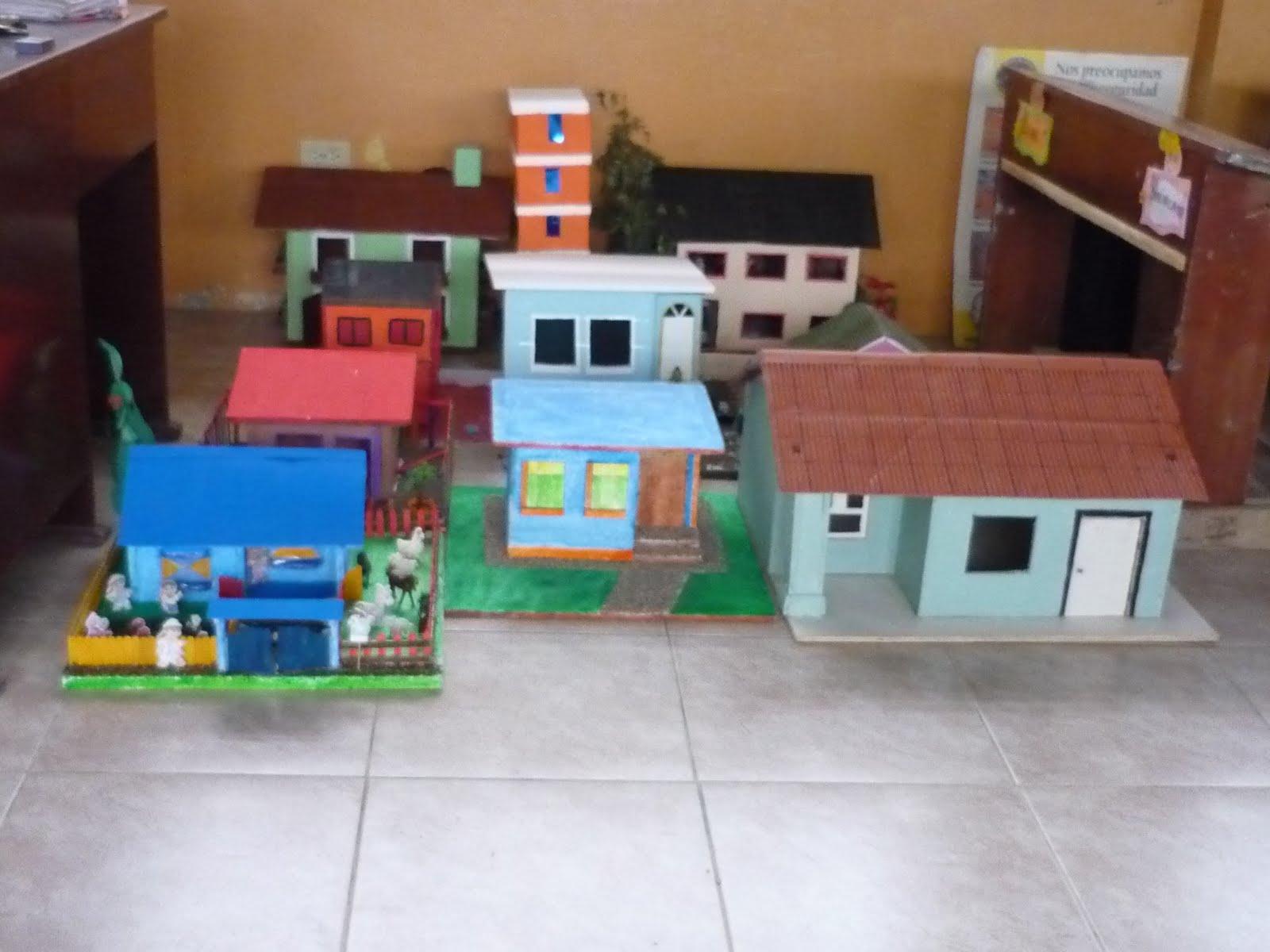 LAS MANUALIDADES DE MAYRITA: Tipos de casas en miniatura
