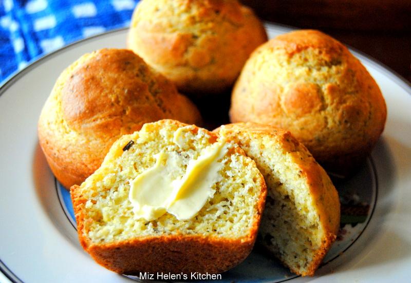 Corn Muffins de Provence