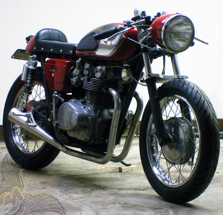 1974 honda cb450 cafe | slingshot cycles