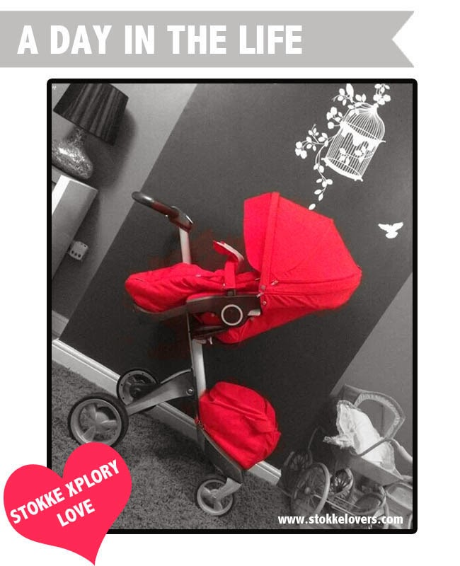 Red Stokke Xplory A day in the life