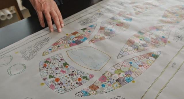 Plano coloreado de Piet Oudolf