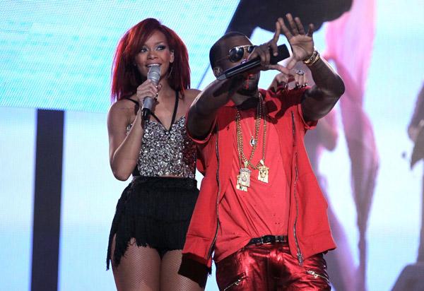 rihanna and kanye west all of lights. Kanye West amp; Rihanna ended the