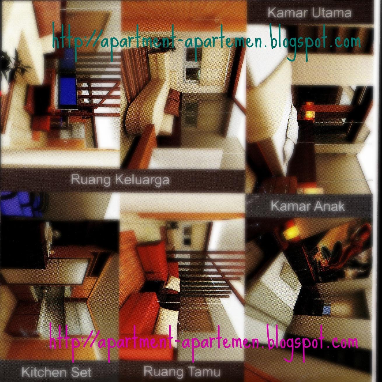 Kamar Tidur Apartemen Gateway Show Unit 1 Apartemen Show Unit 2