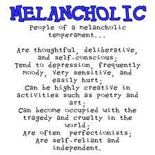 Melancholic personality