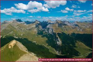 Ven a volar los Pirineos en Agosto