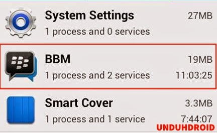 Cara Menghemat RAM Pemakaian BBM Android
