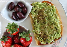 Recently- Avocado-Feta Toast