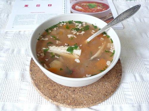 Суп-харчо из рыбы с сельдереем