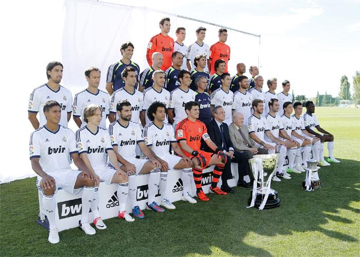 Real Madrid Team 2013