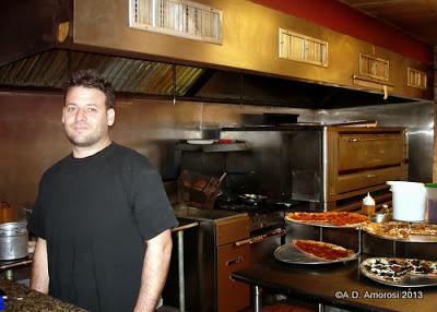 Jeff Yank at SliCE Pizza, Italian Market location, Philadelphia PA
