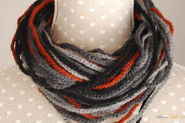 Free Crochet Infinity Chain Scarf Pattern : the new crochet: Infinity chain scarf (+ free pattern)