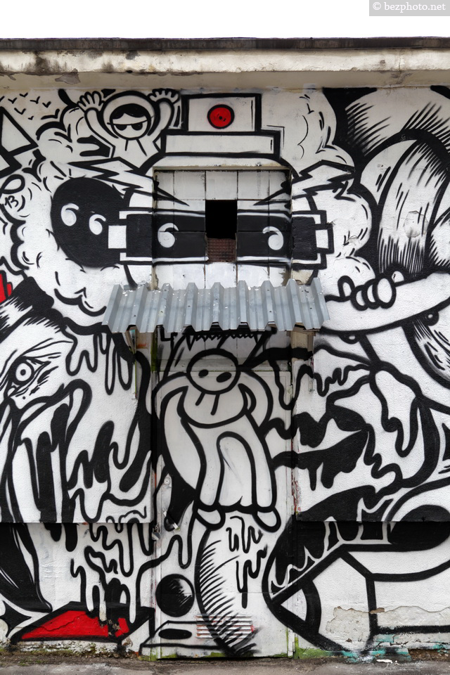 стены с граффити в москве