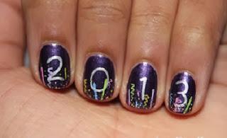Diseño de Uñas para Año Nuevo, Moda y Belleza