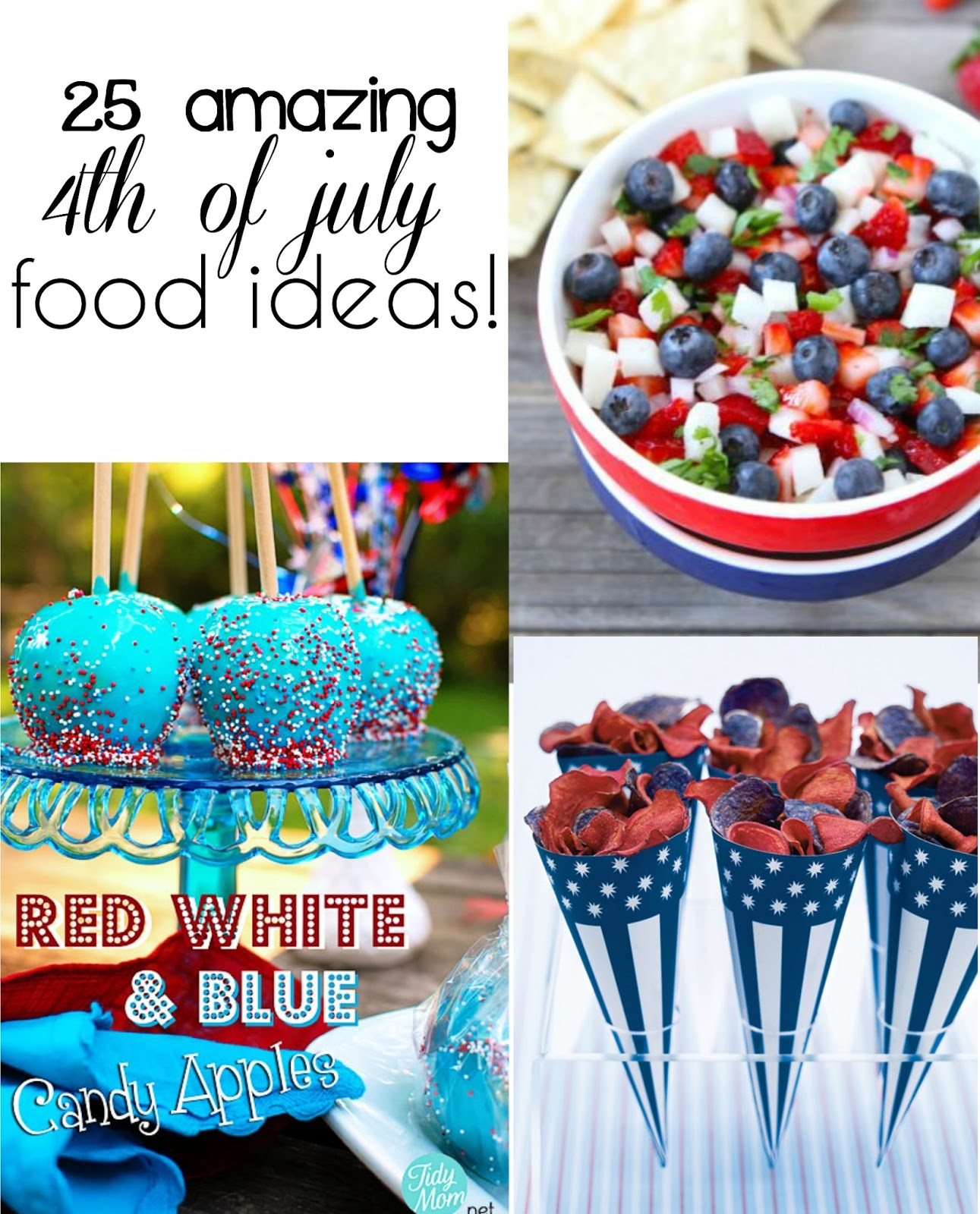 Cremedelacrumb 25 fourth of july food ideas for July 4th food ideas