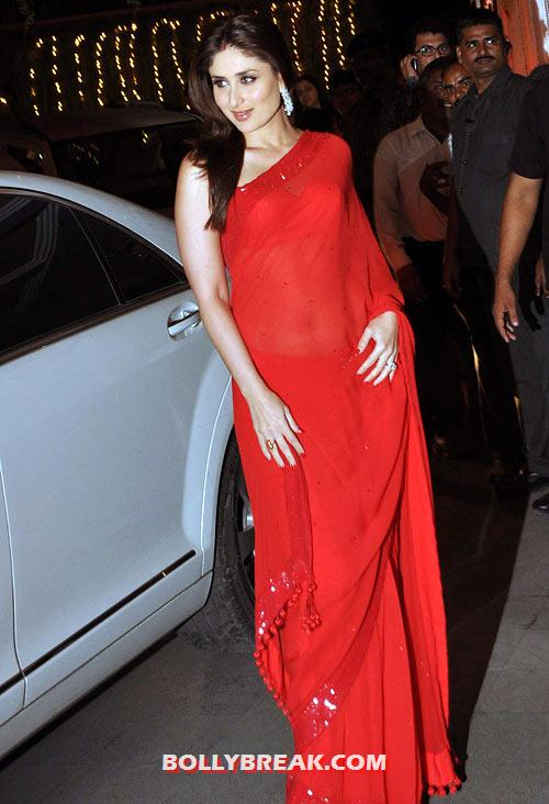 Kareena Kapoor - (2) - Kareena Kapoor in RED Dresses