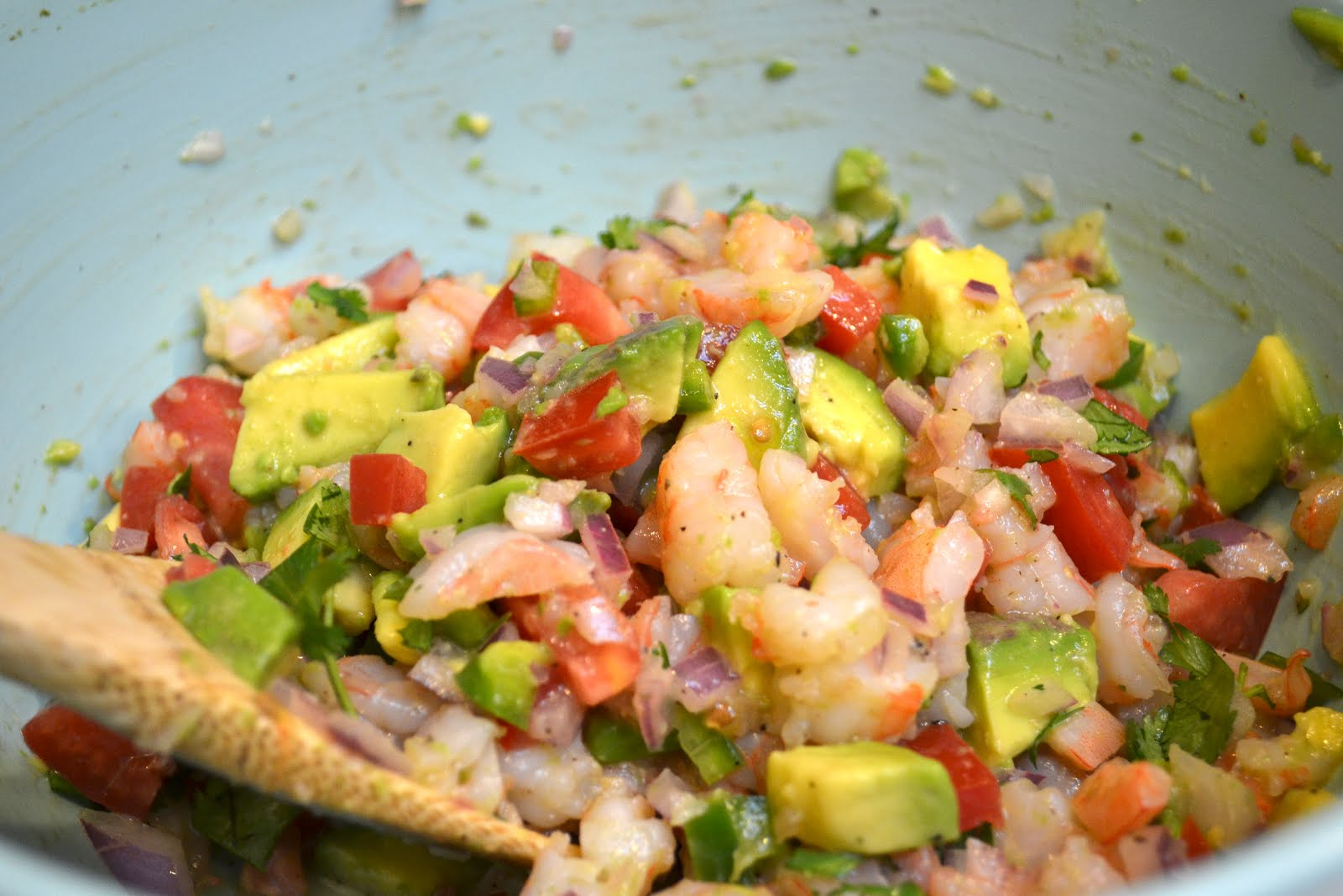 Real Life, One Day at a Time: zesty lime shrimp and ...