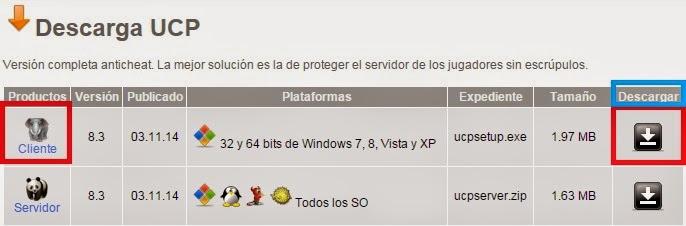 Descargar Counter Strike 1.6 UCP UCP