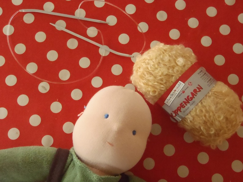 waldorf doll hair instructions