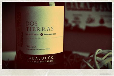 DOS TIERRAS 2011 - Sicilia I.G.T. - Badalucco de la Iglesia Garcia