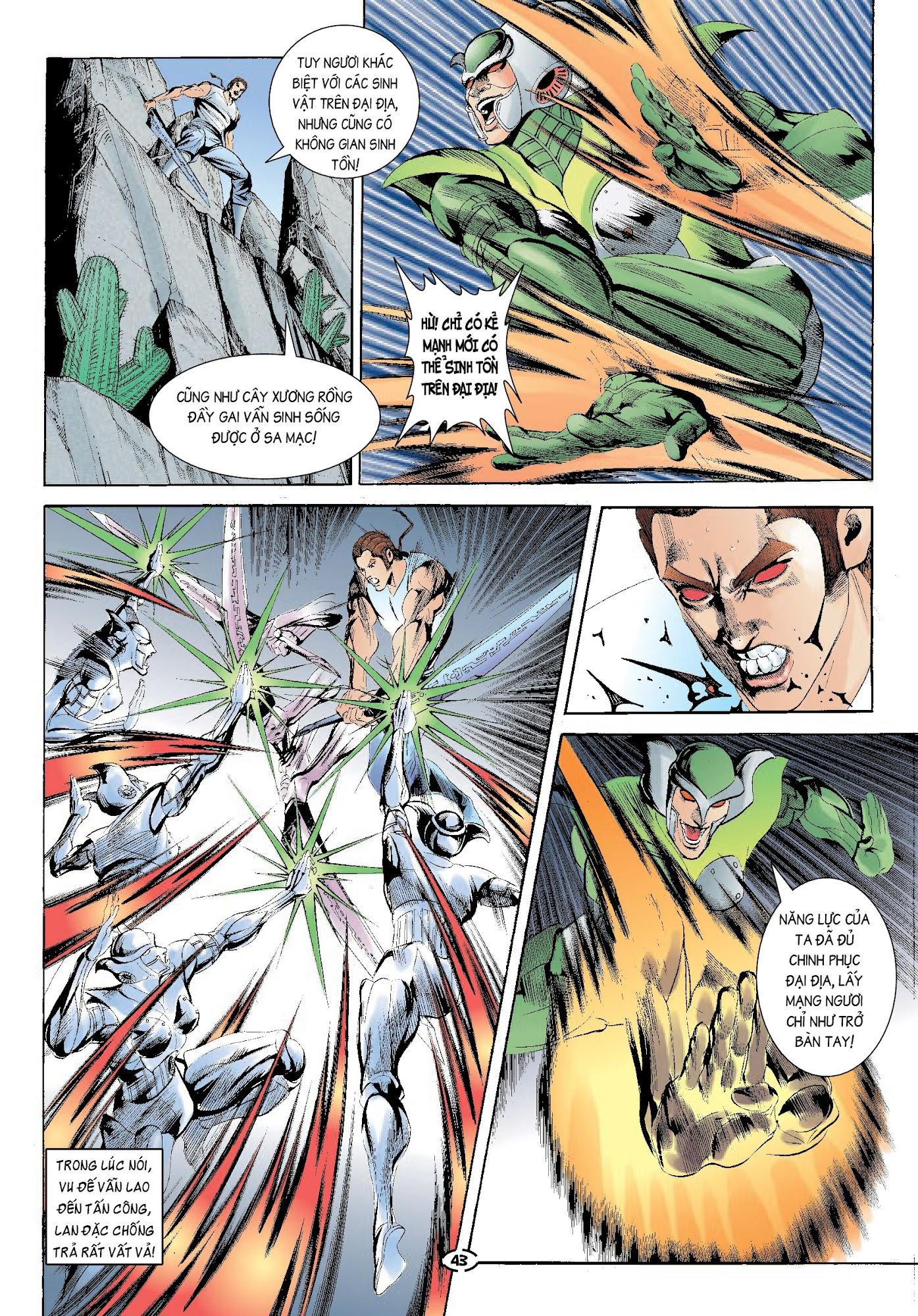 Đại Kiếm Sư Chap 32 - Trang 7