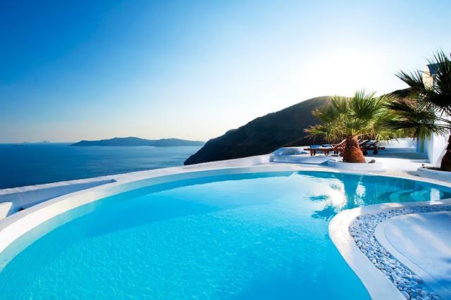 Luxury Life Design The Archtect S Villa Santorini