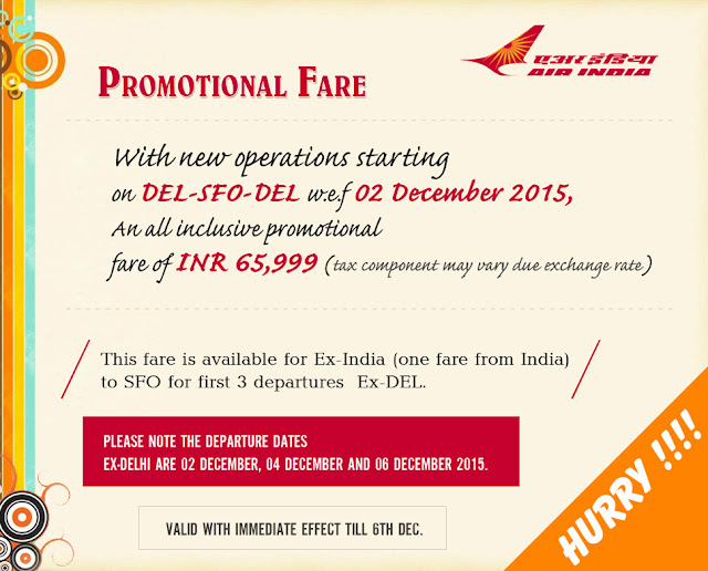 AIRINDIA DEL-SFO-DEL AIRFARE STARTING FROM INR 65999/- AKSHARONLINE.COM WWW.AKSHARONLINE.COM, AKSHAR INFOCOM GHAtlodia tour agent, Travel Agency in Ghatlodia, Ahmedabad