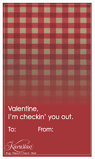 Karastan Carpet Valentines - Check