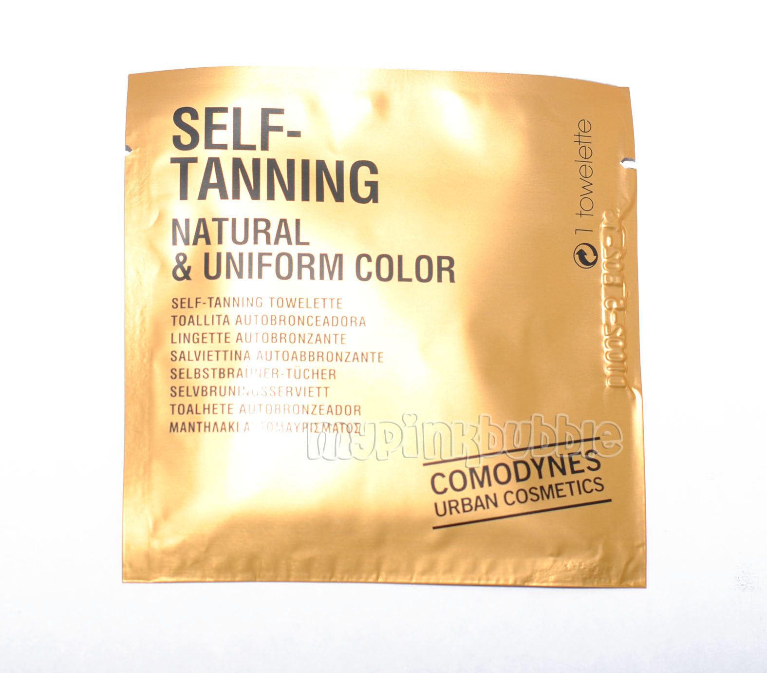 Toallita Self-Tanning Natural & Uniform Color