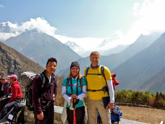 Our guide Janzing Sherpa on the Everest Base Camp Trek