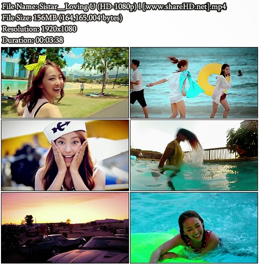 Download MV Sistar (씨스타) - Loving U (Full HD 1080p)