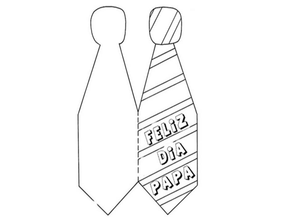 Corbata Para Colorear