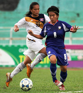 AFF women's football championship 2012,