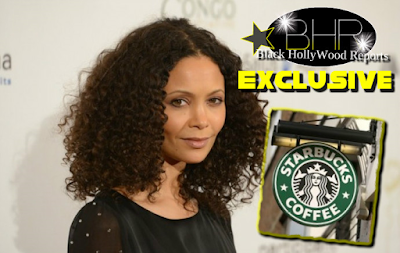 "Actor Thandie Newton Blast Coffee Chain ""Starbucks"" For Having A Black Statue"