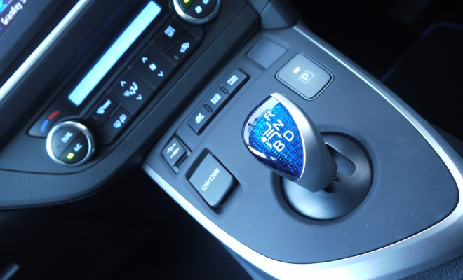 2013 Toyota Auris Hybrid gear stick