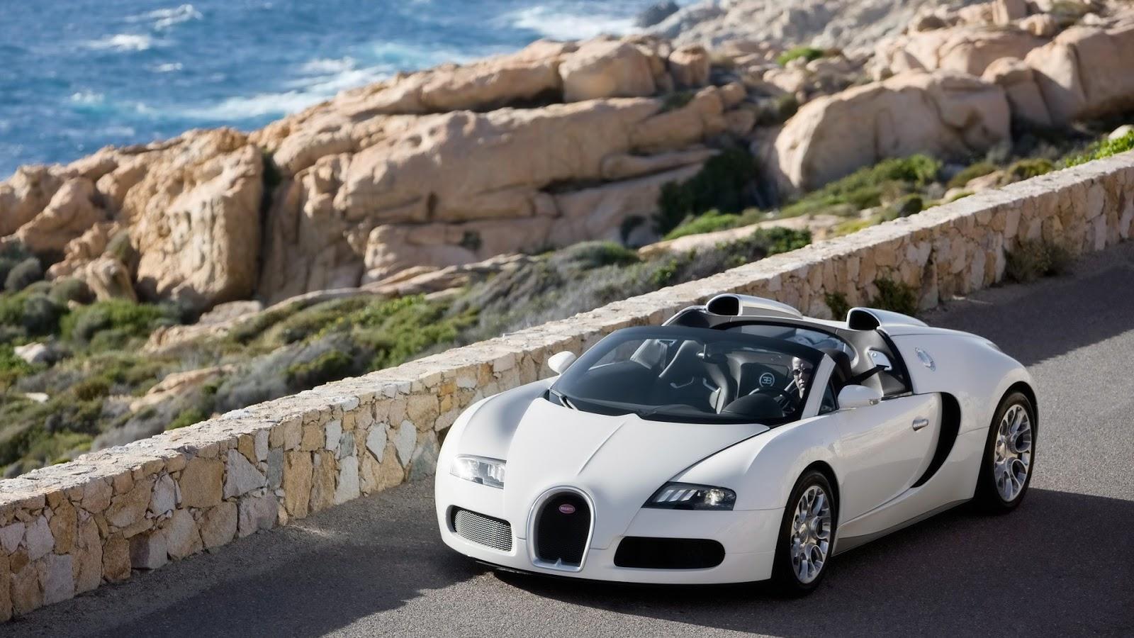 bugatti veyron white cabrio full hd desktop wallpapers 1080p. Black Bedroom Furniture Sets. Home Design Ideas