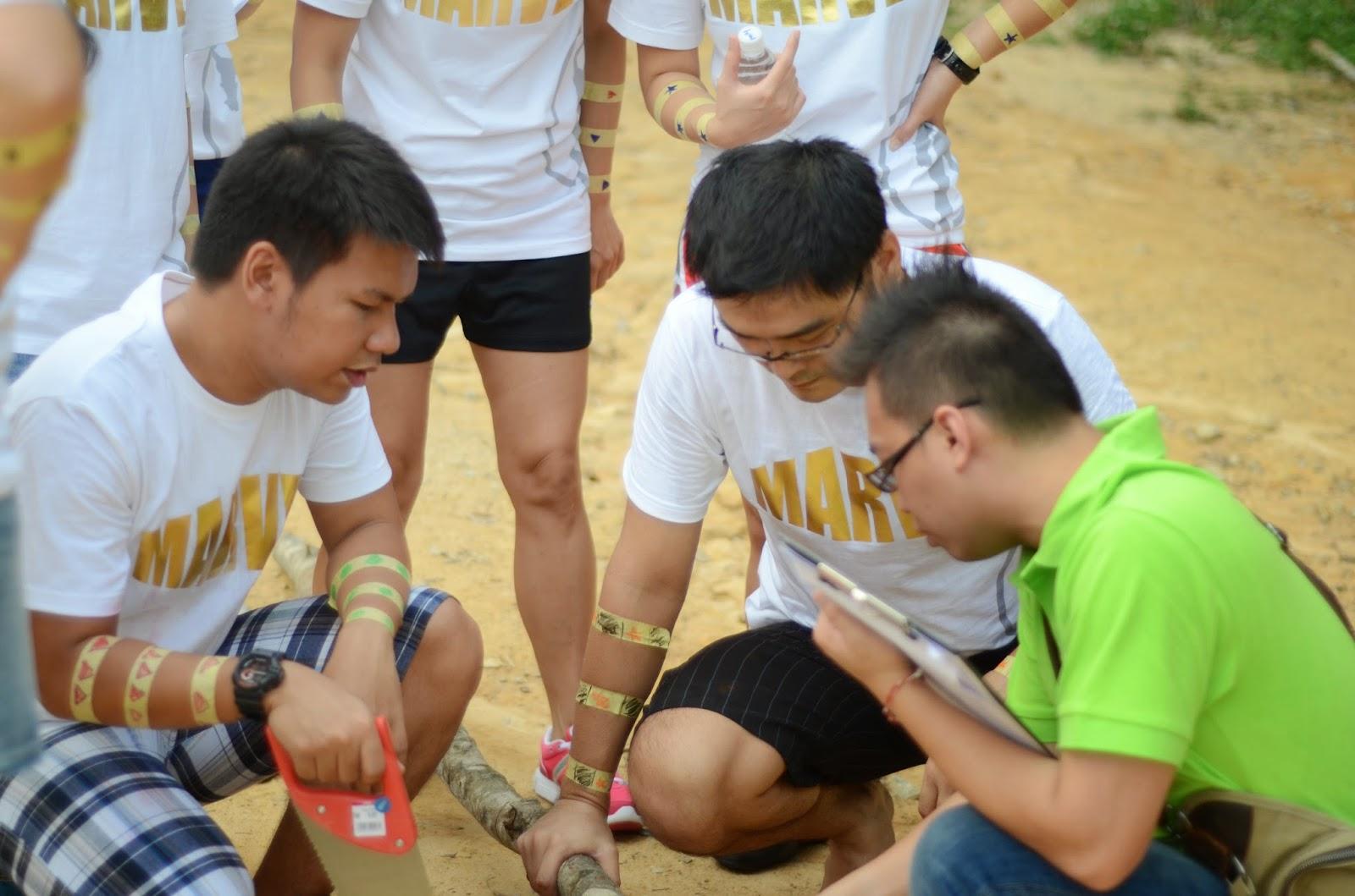 Malacca Adventure Teambuilding - 5 Elements Concept - www.bigtreetours.com