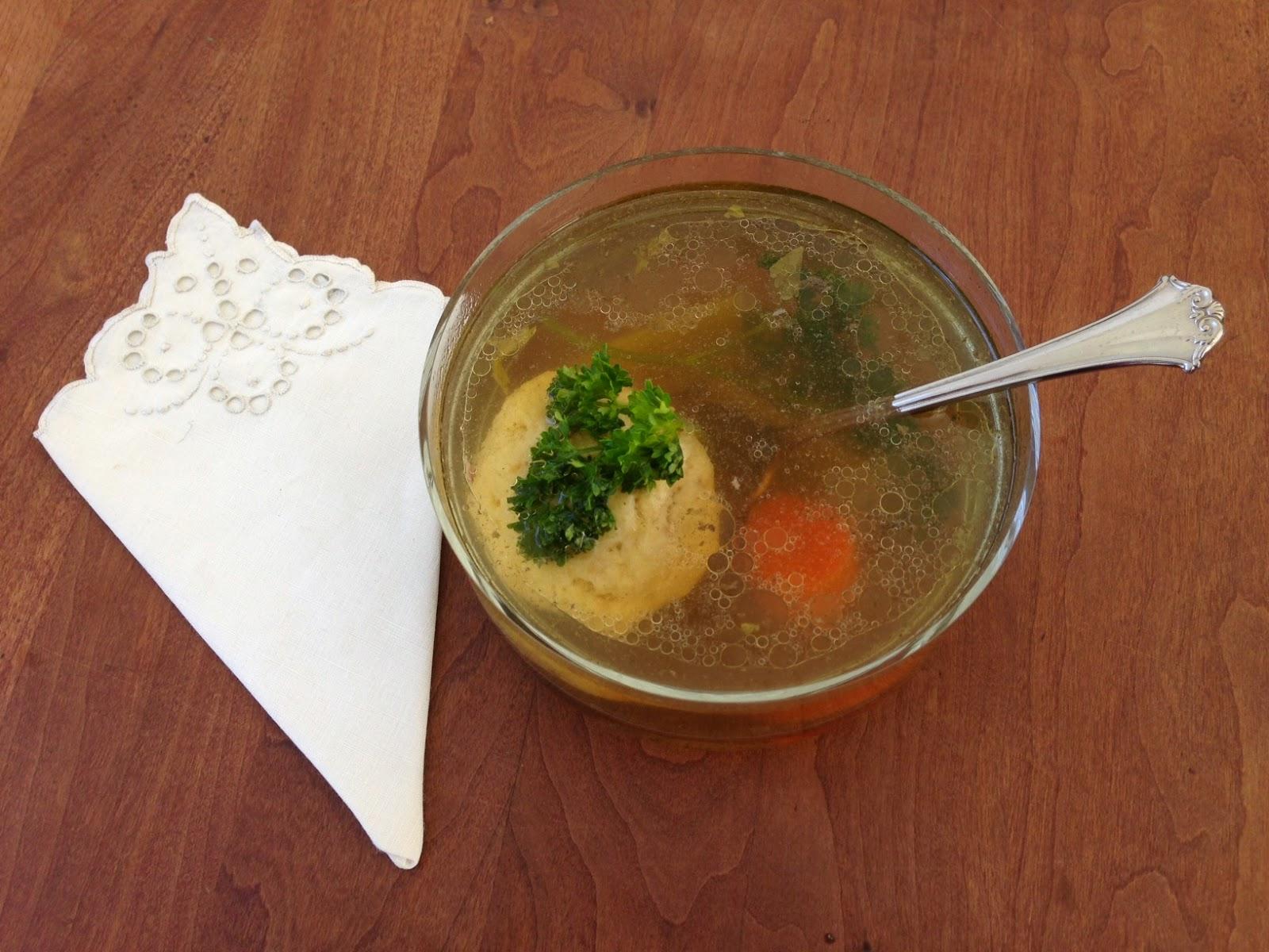 Mommy Blog Expert: Easy Chicken Matzah Ball Soup #Recipe for Passover ...