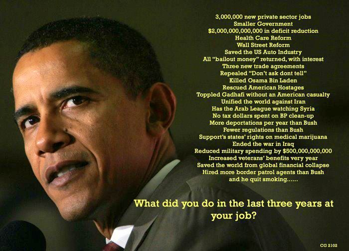 president obama accomplishments 