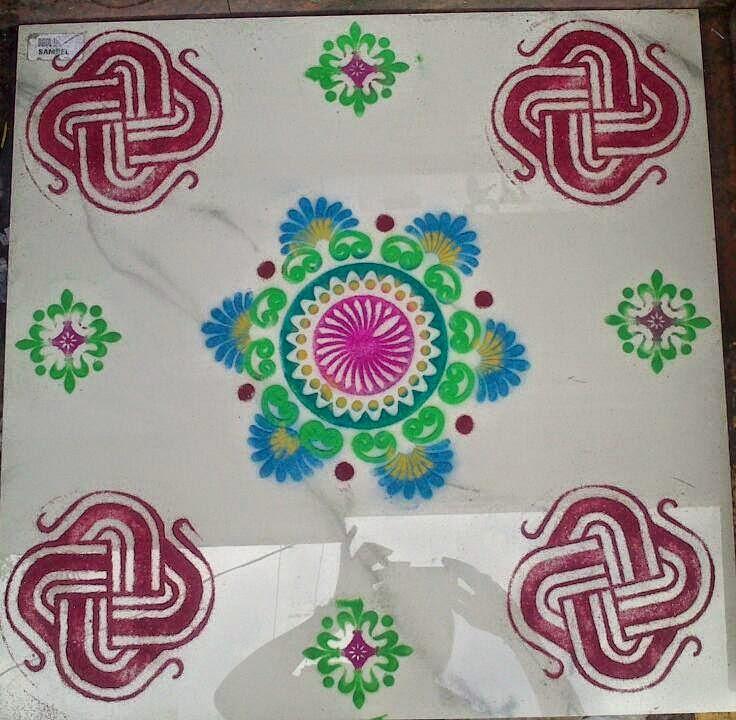 Yojna Kalaskar Kolam Designs 3