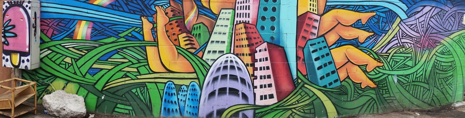 Barcelona City Graffiti