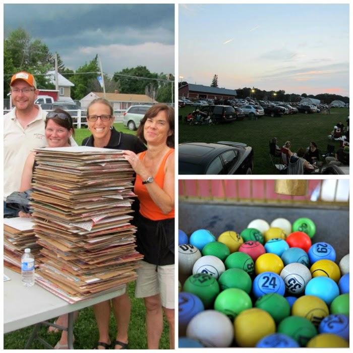 carp fair drive-in bingo; bingo cards; carp fair agricultural society; carp fair; carp bingo