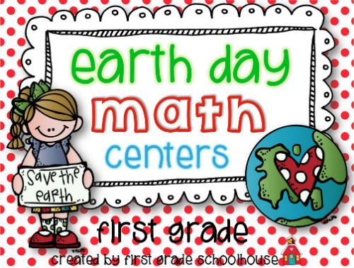 First Grade Schoolhouse Earth Day Activities
