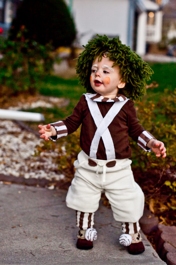 Licorice Halloween Oompa Loompa Diy