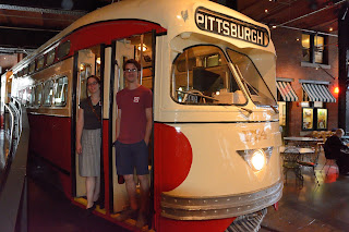 Street car at the Heinz History Museum