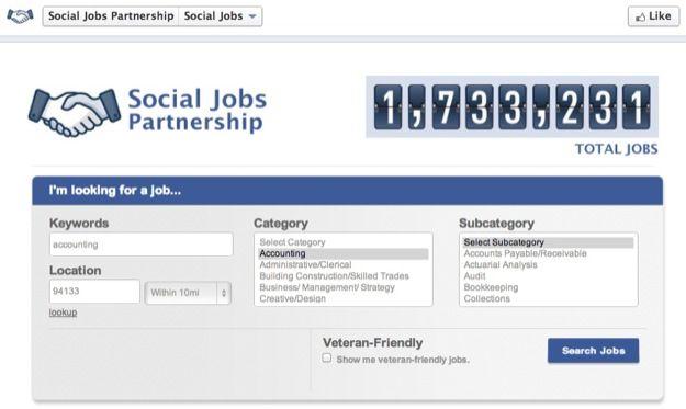 Social Jobs App