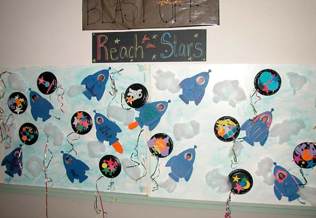 Space Themed Classroom Ideas : Sports themed classrooms clutter free classroom