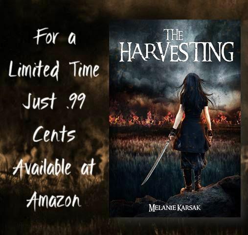 http://www.amazon.com/Harvesting-Melanie-Karsak-ebook/dp/B009GI3YBY/ref=la_B009DKGKQG_1_3?s=books&ie=UTF8&qid=1398465786&sr=1-3