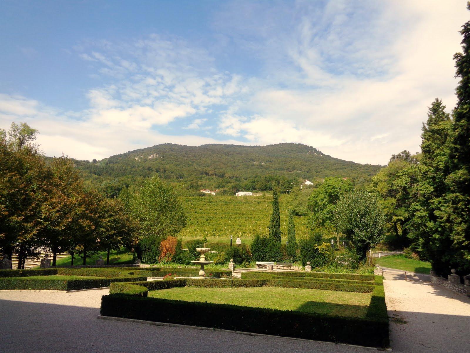 3 aprile 2016 - Centenario della Grande Guerra - 2.a tappa: andando da Merna al monte San Gabriele
